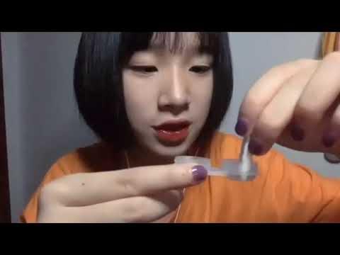 ASMR三吉助眠频道 为你佩戴美瞳/隐形眼镜/助眠 ASMR Wear cosmetic contact lenses / contact lenses / sleep